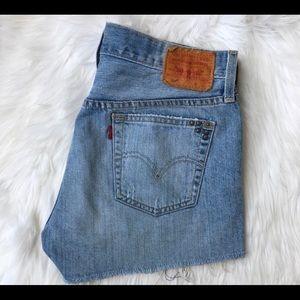 Levi's Shorts - Levi's 501 denim cut off shorts size 25